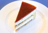 イチジクのシャルロット ケーキ